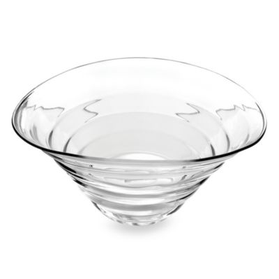 Sophie Conran for Portmeirion® White 13 1/2-Inch Glass Bowl