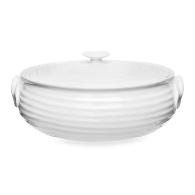 9 White Serving Dish