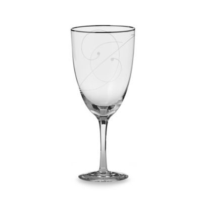 Noritake® Platinum Wave Crystal 15-Ounce Iced Beverage