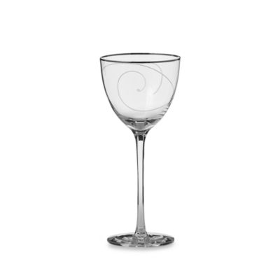 Noritake® Platinum Wave Crystal 8-Ounce Wine