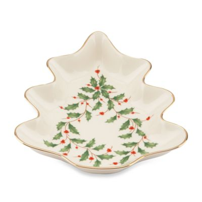 Lenox® Holiday™ Tree Candy Dish