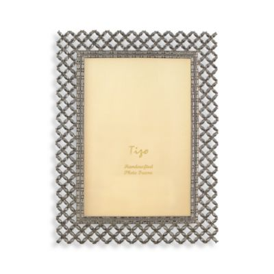 Tizo Crystal Weave 4-Inch x 6-Inch Picture Frame