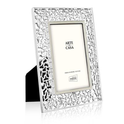 Arte De Casa™ Lattice 4-Inch x 6-Inch Picture Frame