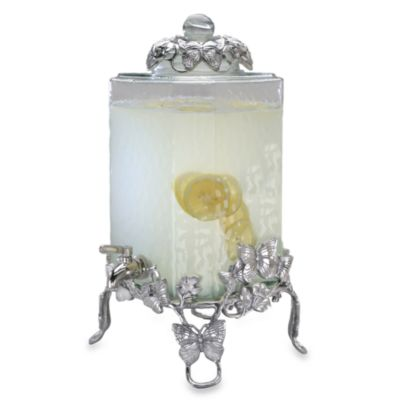 Arthur Court Designs Butterfly 2 1/2-Gallon Beverage Server