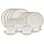 Vera Wang Wedgwood® Gilded Leaf 20-Piece Dinnerware Set