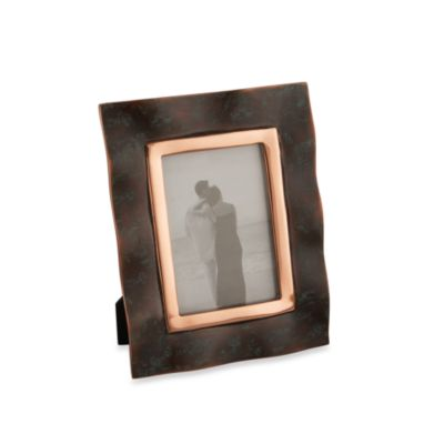 Nambe Copper Canyon 4-Inch x 6-Inch Picture Frame
