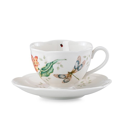 Lenox® Butterfly Meadow® Cup and Saucer Set