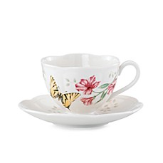 Lenox® Butterfly Meadow® Tiger Swallowtail Cup and Saucer Set