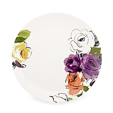 kate spade new york Charcoal Floral 9-Inch Accent Plate