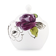kate spade new york Charcoal Floral Sugar Bowl