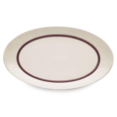 Dansk® Lucia 15.75-Inch Oval Serving Platter