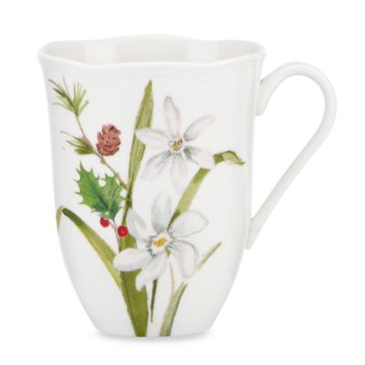 Lenox® Winter Meadow Paper White 12-Ounce Mug