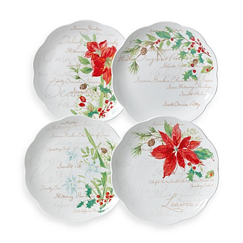 Lenox® Winter Meadow Dessert Plates (Set of 4)