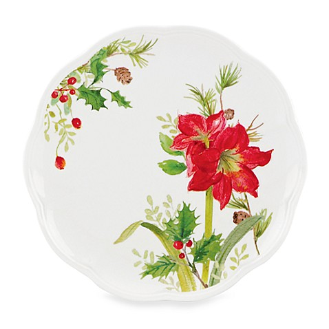 Lenox® Winter Meadow Amaryllis 9-Inch Accent Plate