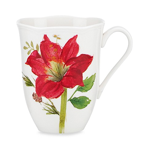Lenox® Winter Meadow Amaryllis 12-Ounce Mug