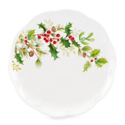 Lenox® Winter Meadow Holly 9-Inch Accent Plate