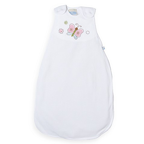 Living Textiles Baby Smart-Dream™ Baby Sleeping Bag w/ Butterfly Embroidery