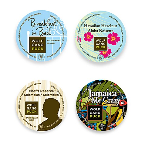 K-Cup® Wolfgang Puck® Coffee for Keurig® Brewers