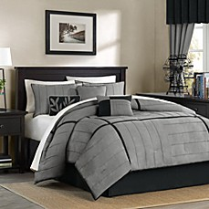 Mesa Complete Bed Ensemble in Grey