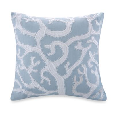 Harbor House™ Crystal Beach 18-Inch Square Embroidered Toss Pillow