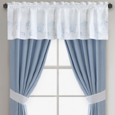 Harbor House Crystal Beach Window Valance