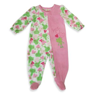 Absorba® Blue Frog Print Sleeper