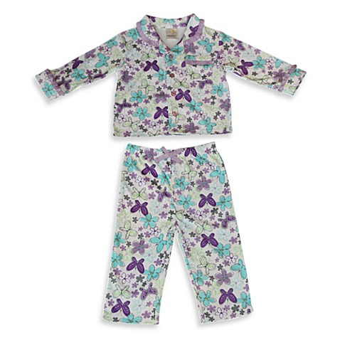 Absorba® Butterfly 2-Piece Pajama