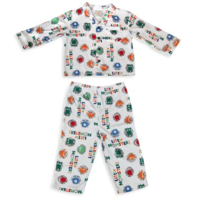 Absorba® Little Monster 2-Piece Pajama