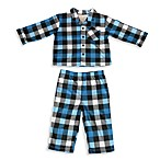 Absorba® 2-Piece Plaid Pajama in Blue