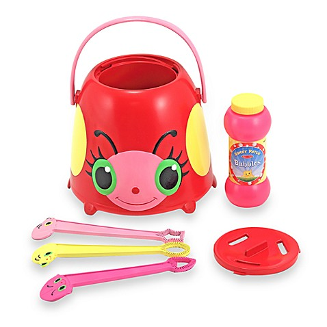 Melissa & Doug® Sunny Patch™ Bollie the Ladybug Bubble Bucket Set