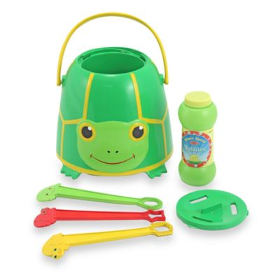 Melissa & Doug® Sunny Patch™ Tootle the Turtle Bubble Bucket Set