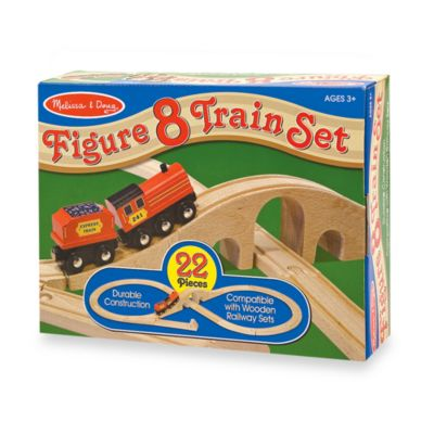 Melissa and Doug® Figure 8 Train Set