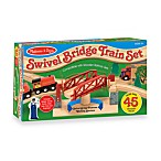 Melissa & Doug® Swivel Bridge Train Set