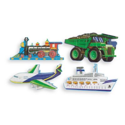Melissa & Doug® Going Places Floor Puzzles