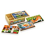 Melissa & Doug® Pets Jigsaw Puzzles In A Box (Set of 4 Puzzles)
