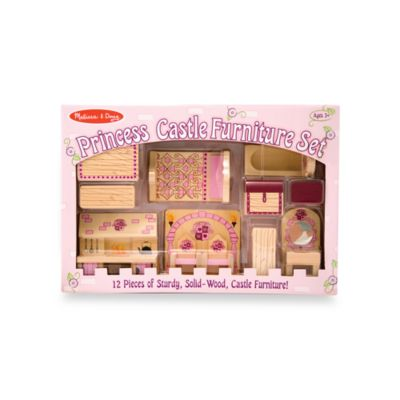 Melissa and Doug® Princess Castle Furniture