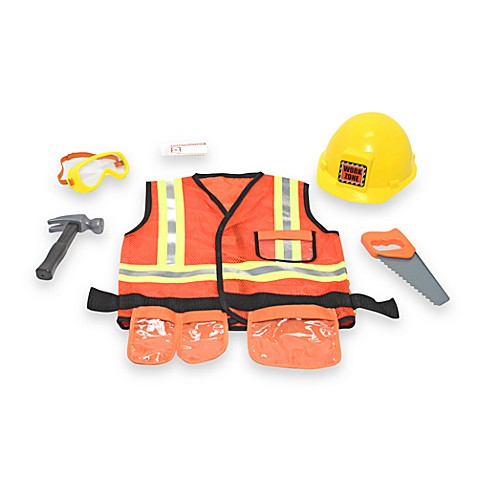Melissa and Doug® Construction Worker Role Play Costume Set