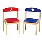 Guidecraft Moon & Stars Chairs (Set of 2)