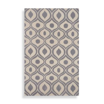 Momeni Bliss 2-Foot 3-Inch x 8-Foot Runner in Grey