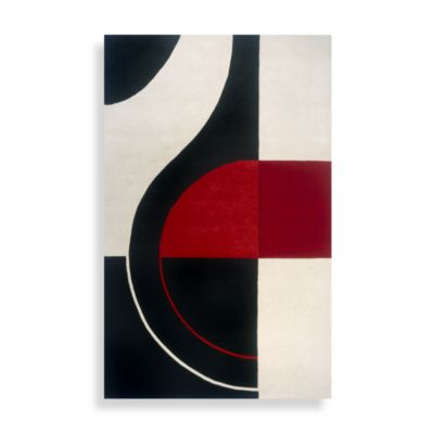 3 6 Black Collection Rug