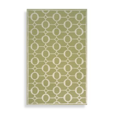 TransOcean Spello Arabesque Runner Rug 2-Foot x 8-Foot in Sage
