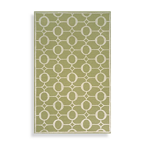TransOcean Spello Arabesque Area Rug 7-Foot 6-Inch x 9-Foot 6-Inch in Sage