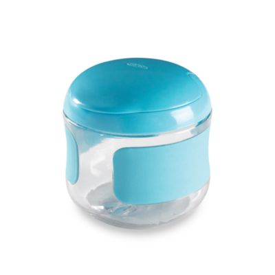 OXO Tot® Flip Top Snack Cup in Aqua