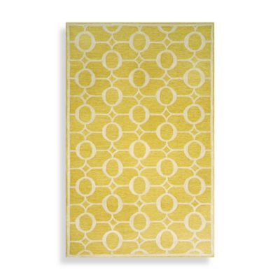 Spello Arabesque 7-Foot 6-Inch x 9-Foot 6-Inch Area Rug in Yellow