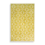 Spello Arabesque Area Rug in Yellow