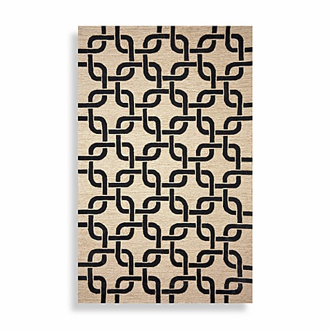 Spello Chains 3-Foot 6-Inch x 5-Foot 6-Inch Area Rug