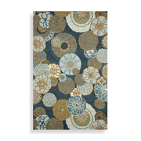 Ravella Disco Denim Area Rug - 8' Round