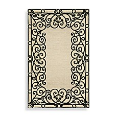 Spello Wrought Iron Black Area Rugs