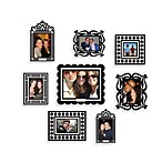 Butch & Harold Sticker Frames in Black (Set of 8)