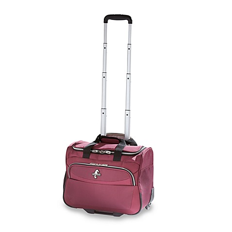 Travelpro® Atlantic Compass® 2 Wheeled Carry-On Tote in Cranberry